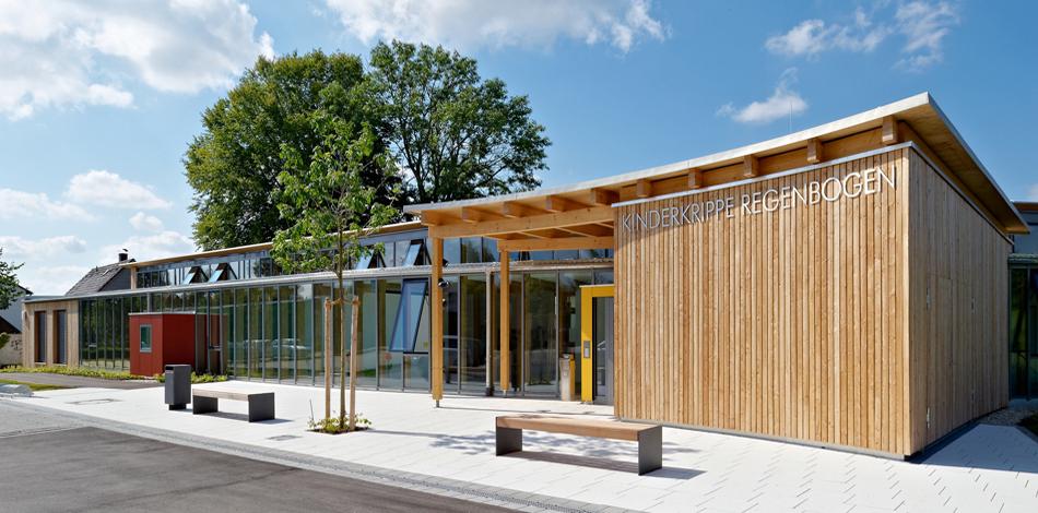 Neubau der Kinderkrippe Regenbogen in Altheim